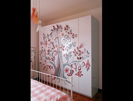 Studio nuova immagine decorazioni di interni e for Decorazioni adesive per mobili